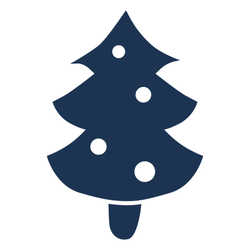 512x512 Christmas Tree Silhouette Icon 61