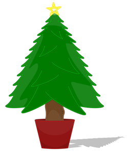252x300 8036 Christmas Tree Silhouette Clip Art Public Domain Vectors