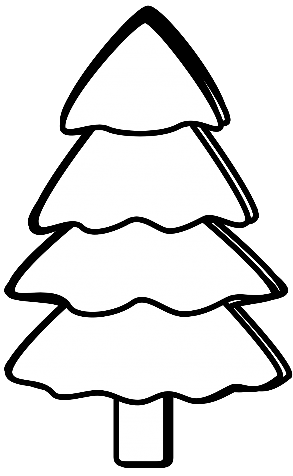 1024x1661 Baby Nursery Engaging Christmas Clipart Black And White Simple