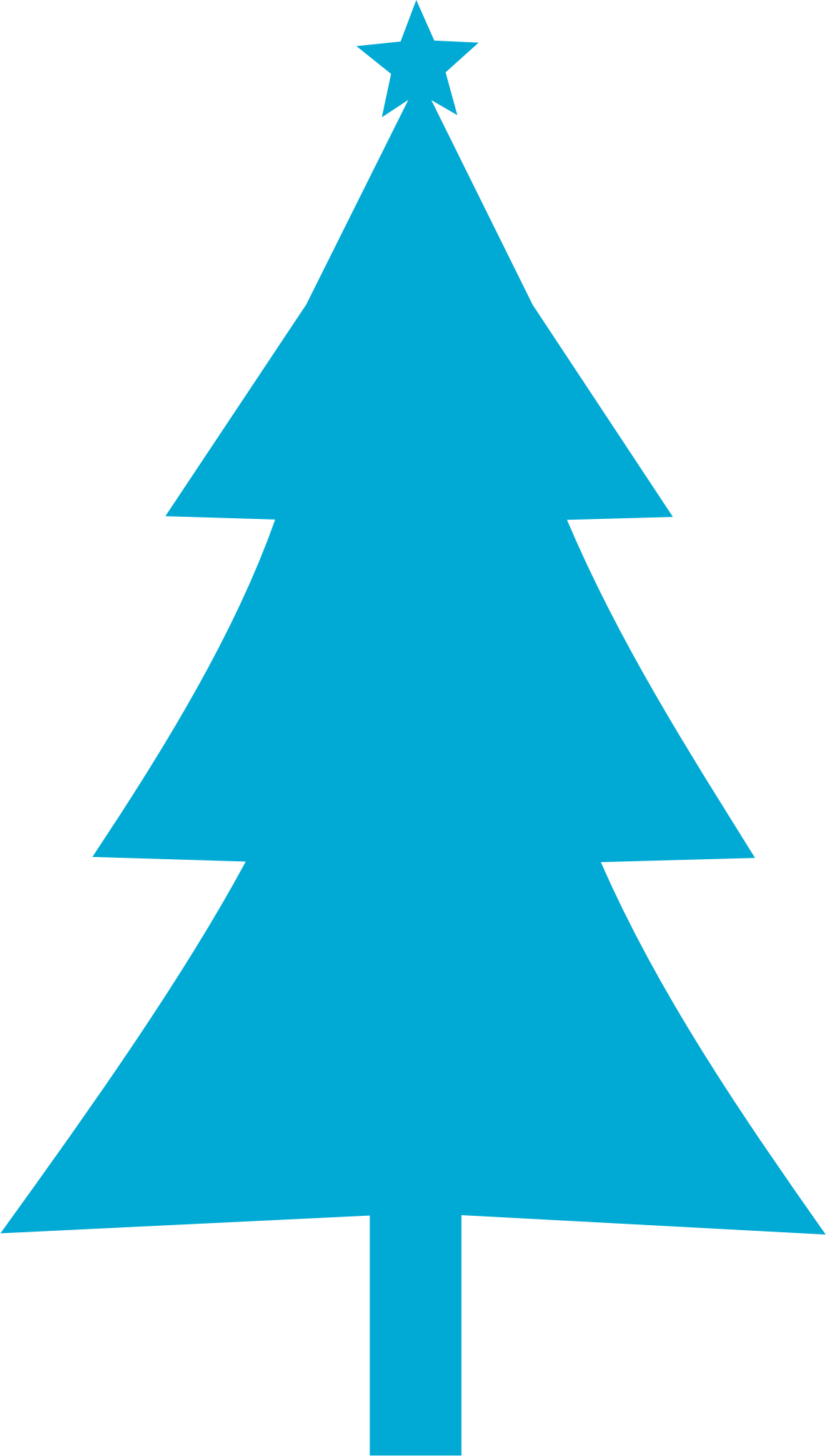 Tall Christmas Tree Clipart.Christmas Trees Silhouette At Getdrawings Com Free For