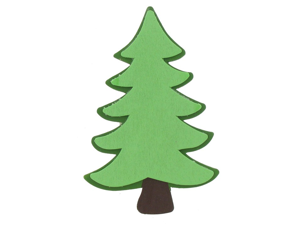 965x722 Clipart Evergreen Tree Silhouette Collection