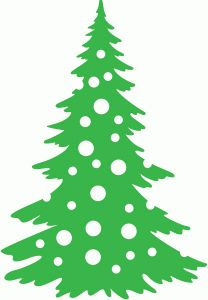 Christmas Tree Clipart Silhouette.Christmas Trees Silhouette At Getdrawings Com Free For