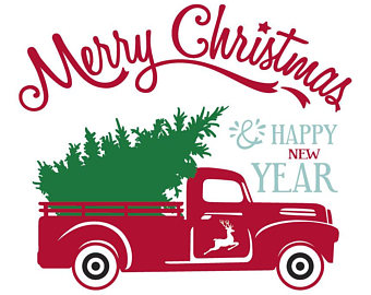 Christmas Truck Svg.Christmas Truck Silhouette At Getdrawings Com Free For