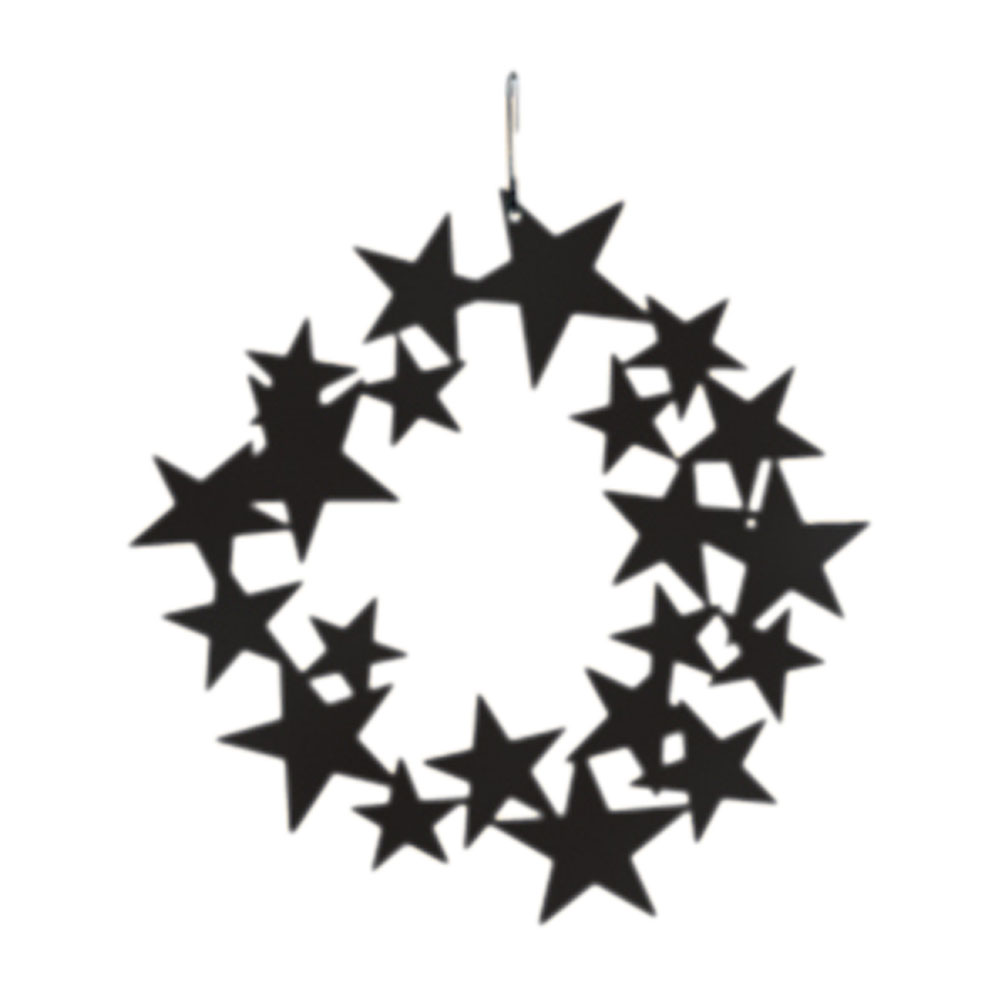 1000x1000 Village Wrought Iron Star Wreath