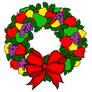 300x300 Colorful Wreath Clipart, Cliparts Of Colorful Wreath Free Download
