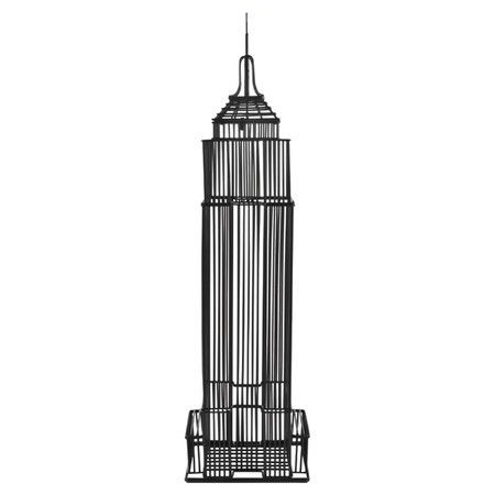 450x450 Metal Cork Holder With An Empire State Building Silhouette