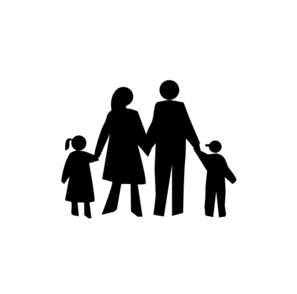 297x294 Innovation Design Black Family Clipart And White Free Clip Art