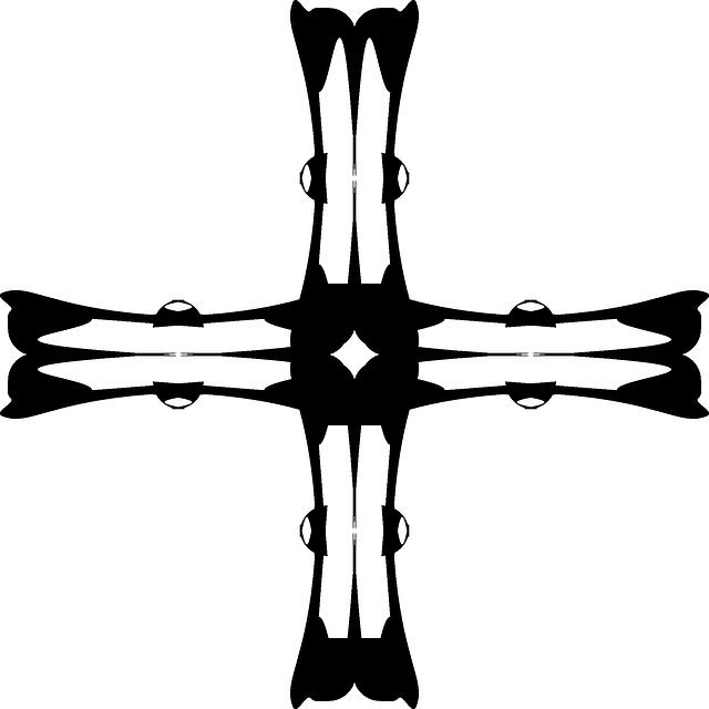 640x640 Cross, Church, Silhouette
