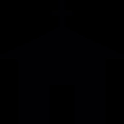 512x512 Church Silhouette