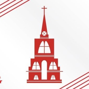 340x340 Church Silhouette Free Vector 123freevectors