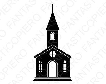 340x270 Church Illustration Etsy