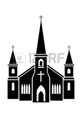 318x450 Jesuit Church Clipart