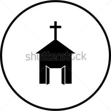 379x380 Open Church Door Clipart