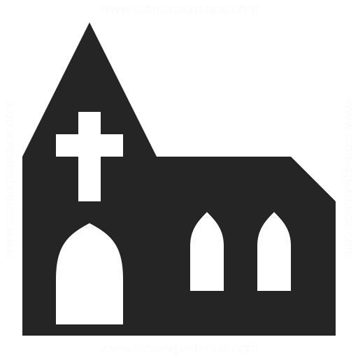 512x512 Church Icon Iconexperience