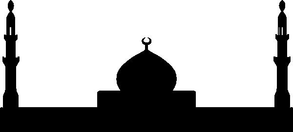 600x271 Church Silhouette Clip Art