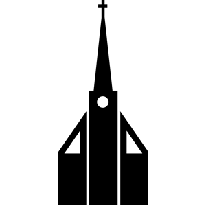 300x300 Church Silhouette Clipart, Cliparts Of Church Silhouette Free