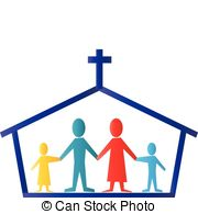 180x195 Family Church Illustrations And Clipart. 1,786 Family Church