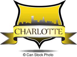 261x194 Charlotte City Skyline Vector Clipart Eps Images. 107 Charlotte