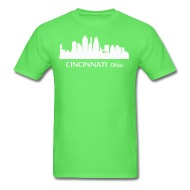 190x190 Cincinnati Ohio Downtown Skyline Silhouette By Kwg2200 Spreadshirt