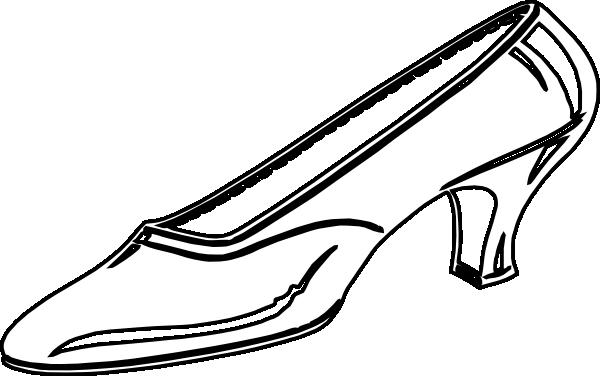 600x376 Cinderella Shoes Clipart