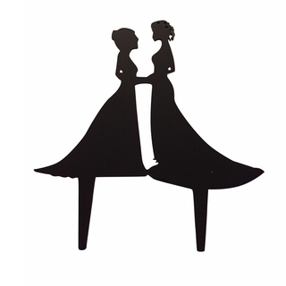 320x320 Cinderella And Prince Charming Love Cake Topper