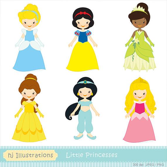 570x570 Digital Clipart Disney Princess Dress