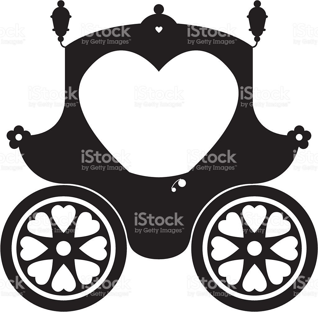 1024x1005 Images Cinderella Carriage Silhouettes