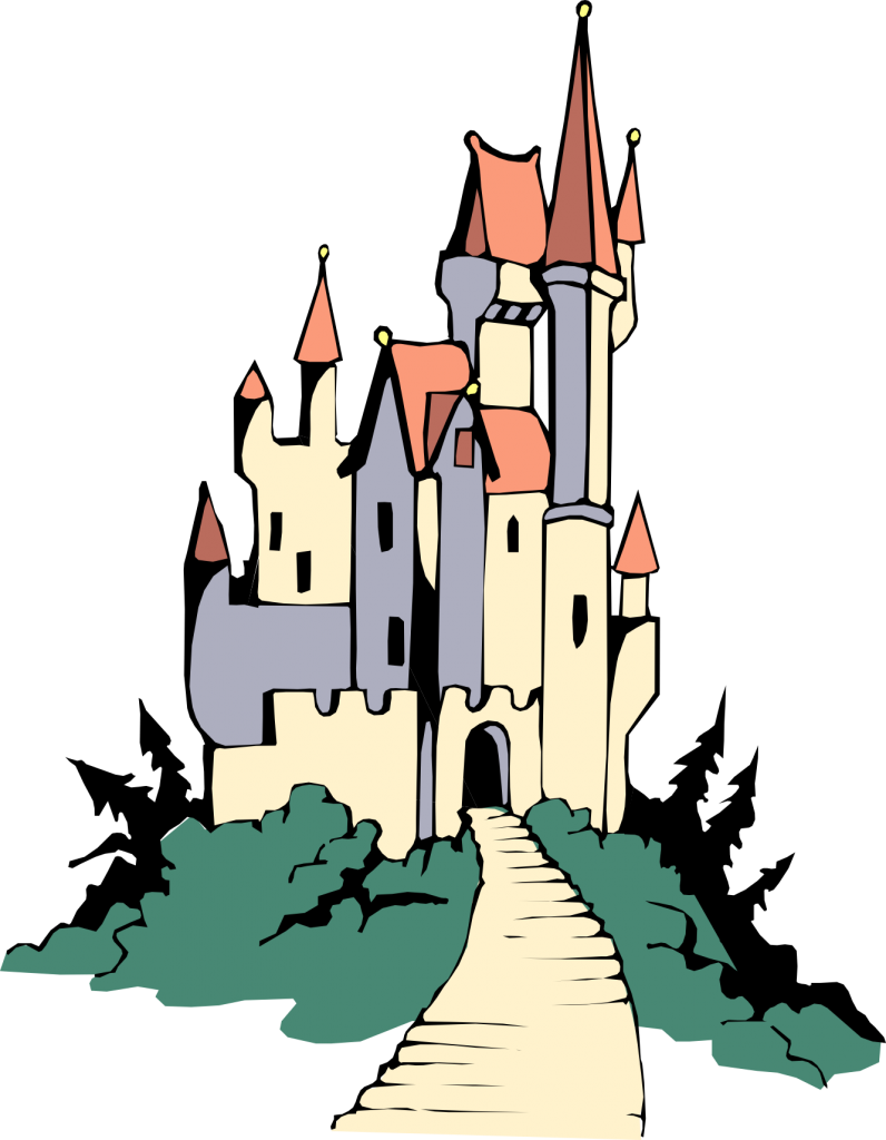 cinderella castle silhouette clip art at getdrawings com free for rh getdrawings com castle clip art for banners castle clip art free