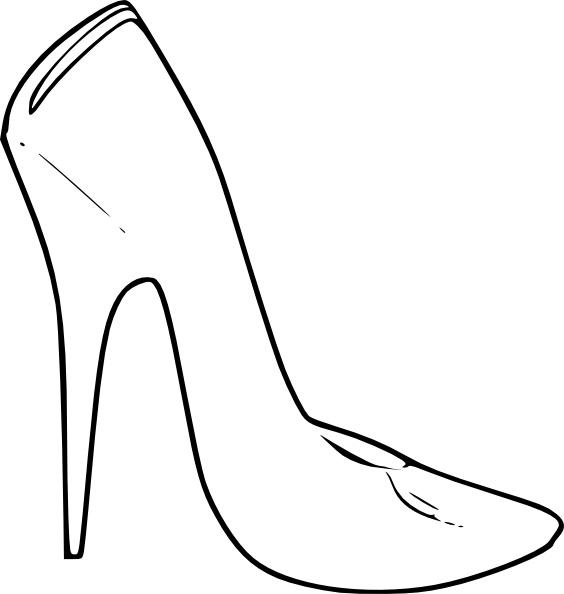 564x594 High Heel Shoes Women Fashion Clip Art Free Vector In Open Office