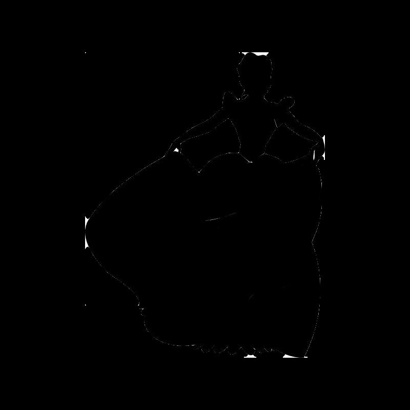 800x800 12 Cinderella Silhouette Digital Clipart Images Clipart Design