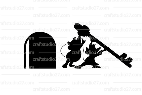 570x380 Digital File Disney Cinderella Mice Gusampjaq With Key