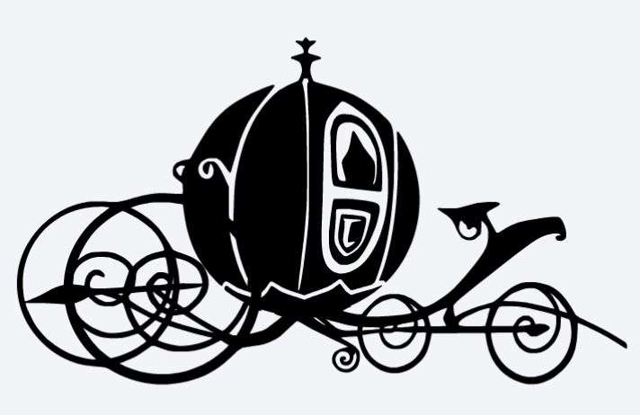 712x462 Carriage Silhouette Clipart