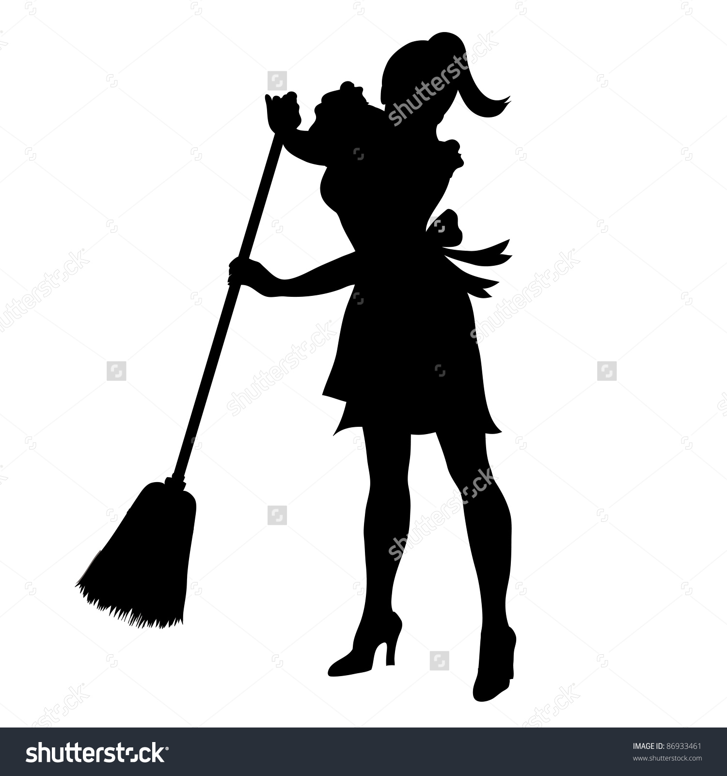 1500x1600 Sweeping Silhouette Clipart
