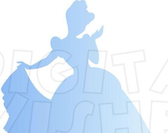 340x270 Ariel Silhouette Clip Art