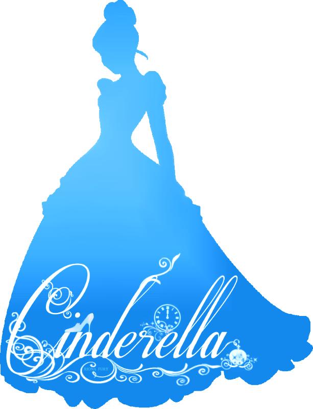 613x800 Cinderella Silhouette