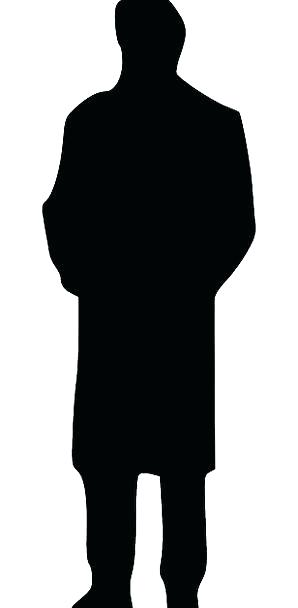 298x608 Outline Of A Person Silhouette Of Walking Woman Outline Person