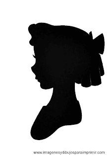 picture regarding Free Printable Disney Silhouettes known as Cinderella Silhouette Printable at  Absolutely free