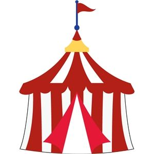 300x300 Circus Tent Silhouette Design, Silhouettes And Tents