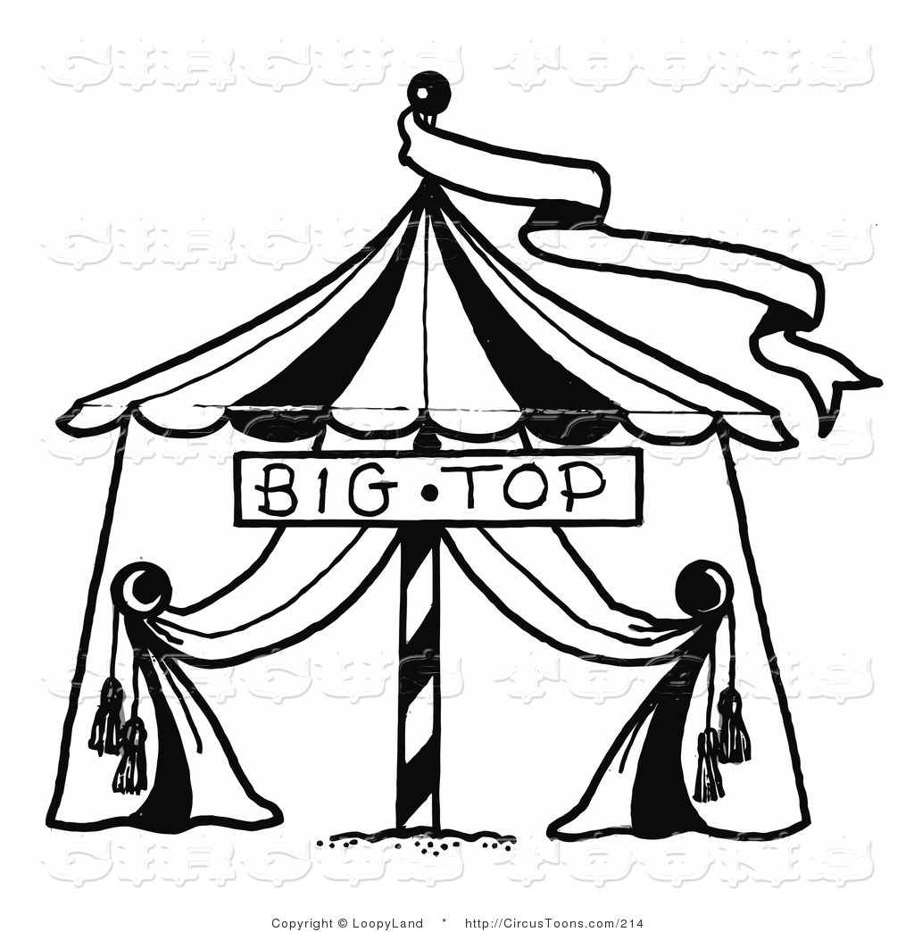 1024x1044 Circus Tent Clipart Black And White