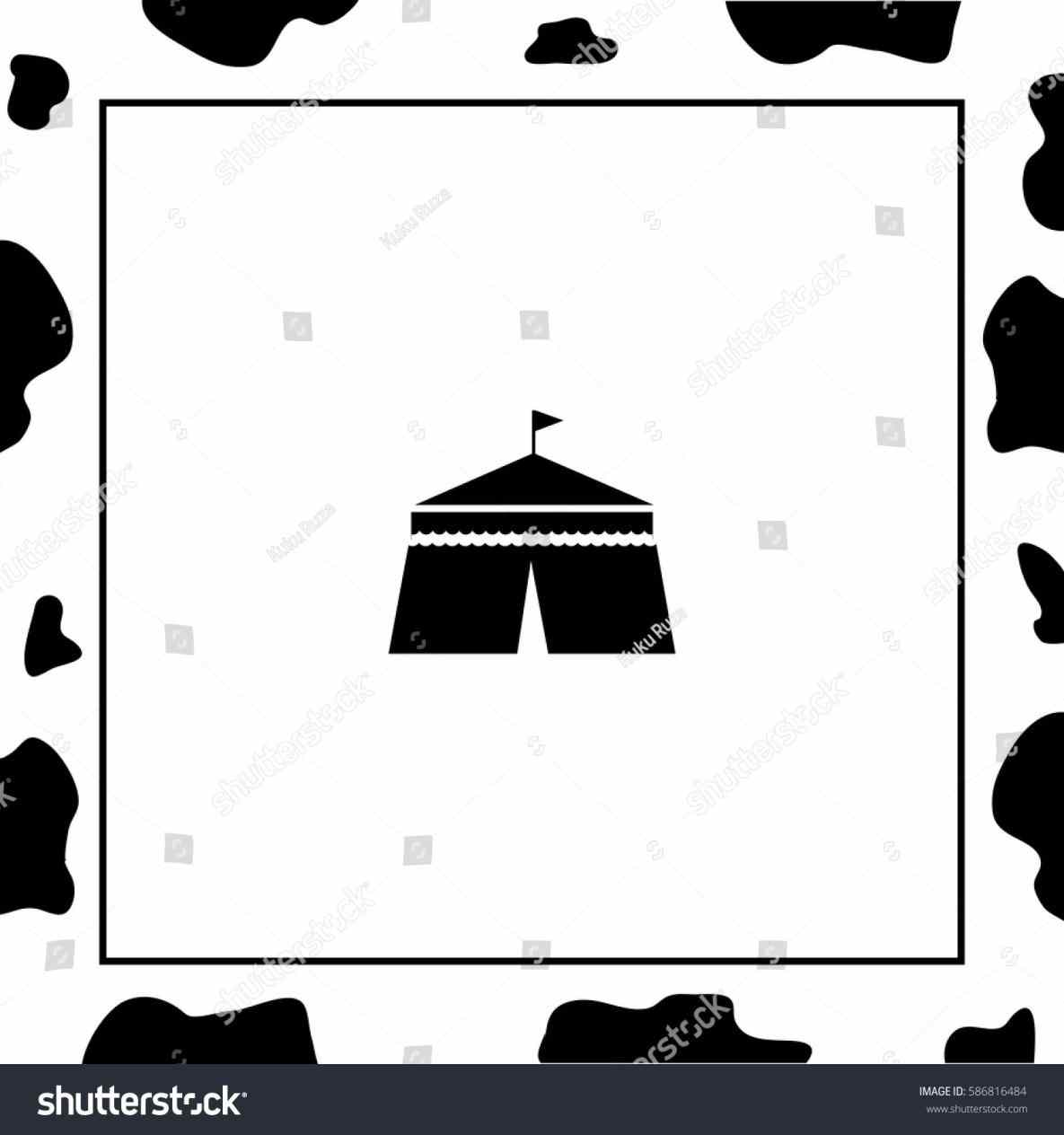 1185x1264 Circus Tent Silhouette