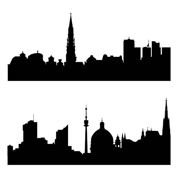 570x570 City Silhouette Svg Europe Cities Svg World Cities Svg