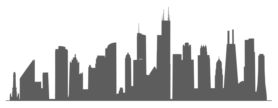 970x380 Images Of City Silhouette Png