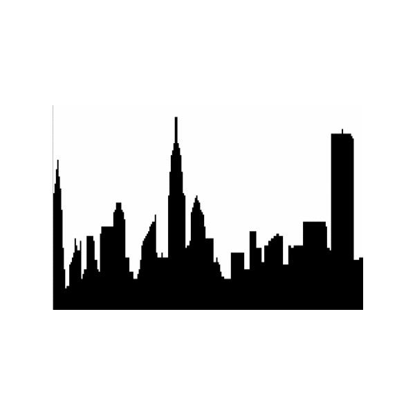 600x600 Free Drawing Of City Skyline From The Category Buildings Amp Tools