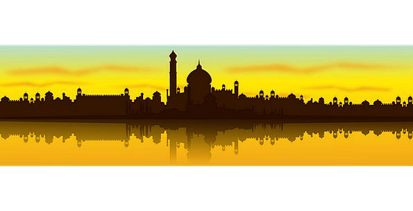 595x304 India, Buildings, Urban, Architecture, Cityscape, City, Landscape