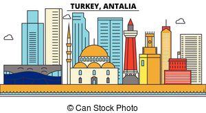 300x165 Turkey, Ankara. City Skyline Architecture, Buildings, Eps