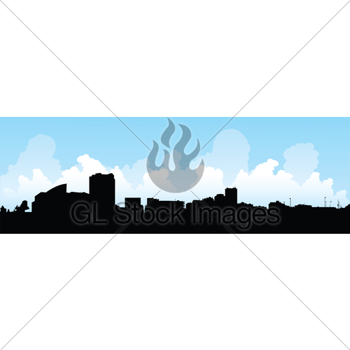 500x500 Windsor, Ontario Skyline Gl Stock Images