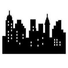 236x236 Free City Skyline Silhouette Vector City Silhouette Graphics