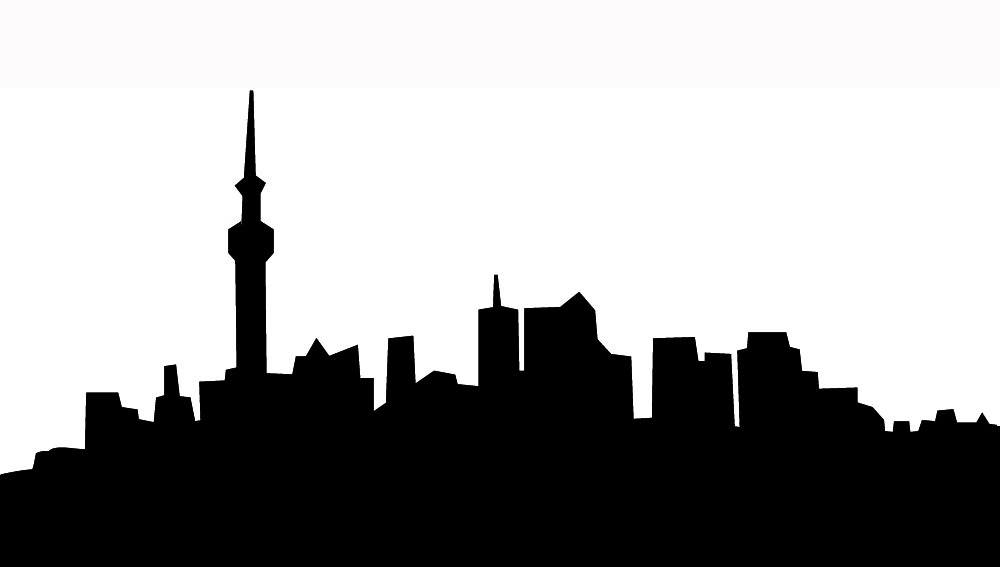 1000x567 City Clipart Silhouette Many Interesting Cliparts