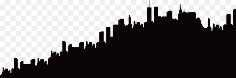 900x300 Silhouette Skyline City