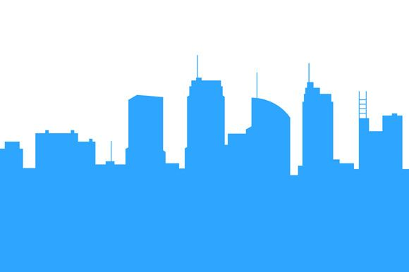 580x386 City Skylines Silhouette Background @creativework247 Photoshop